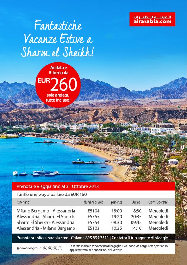 Fantastiche Vacanze Estive a Sharm el Sheikh!