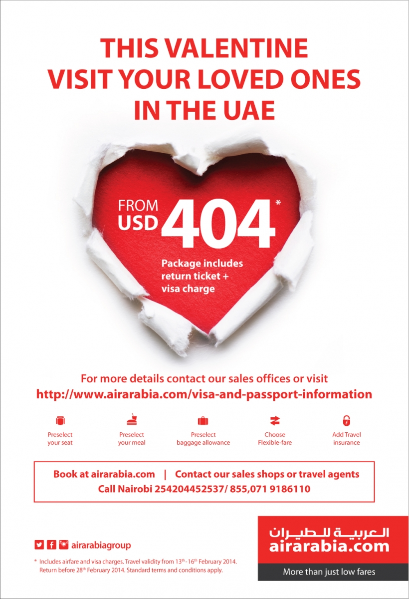 Visit your loved ones in UAE on this valentine