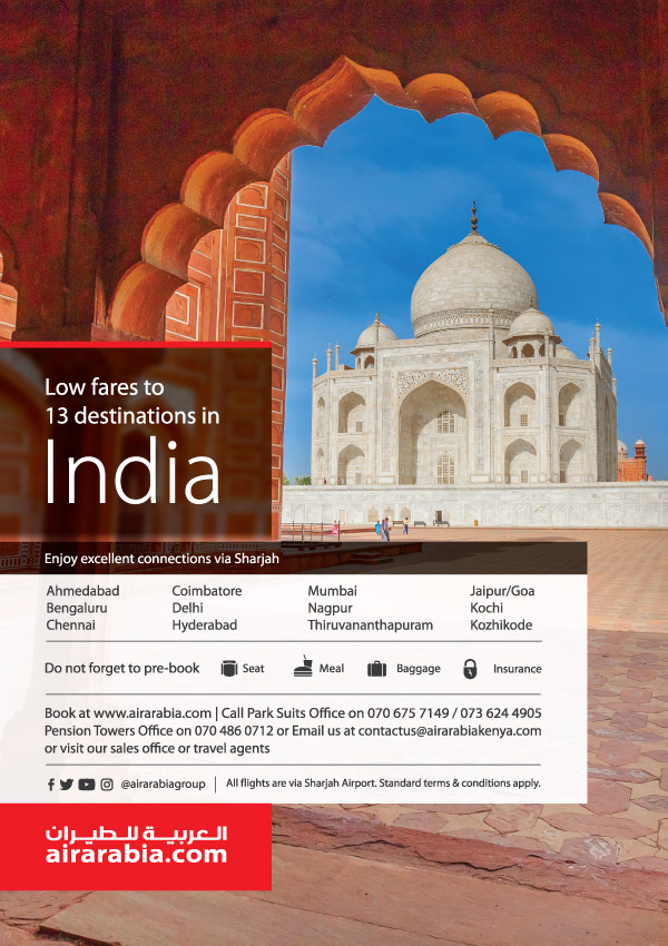 Low fares to 13 destinations in India