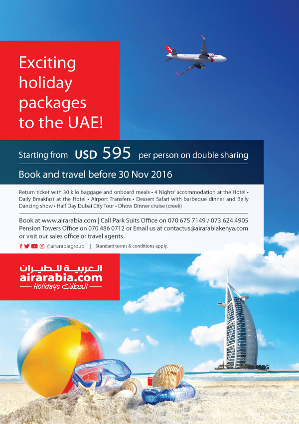 Exciting Holiday Packages To The UAE Starting From USD 595