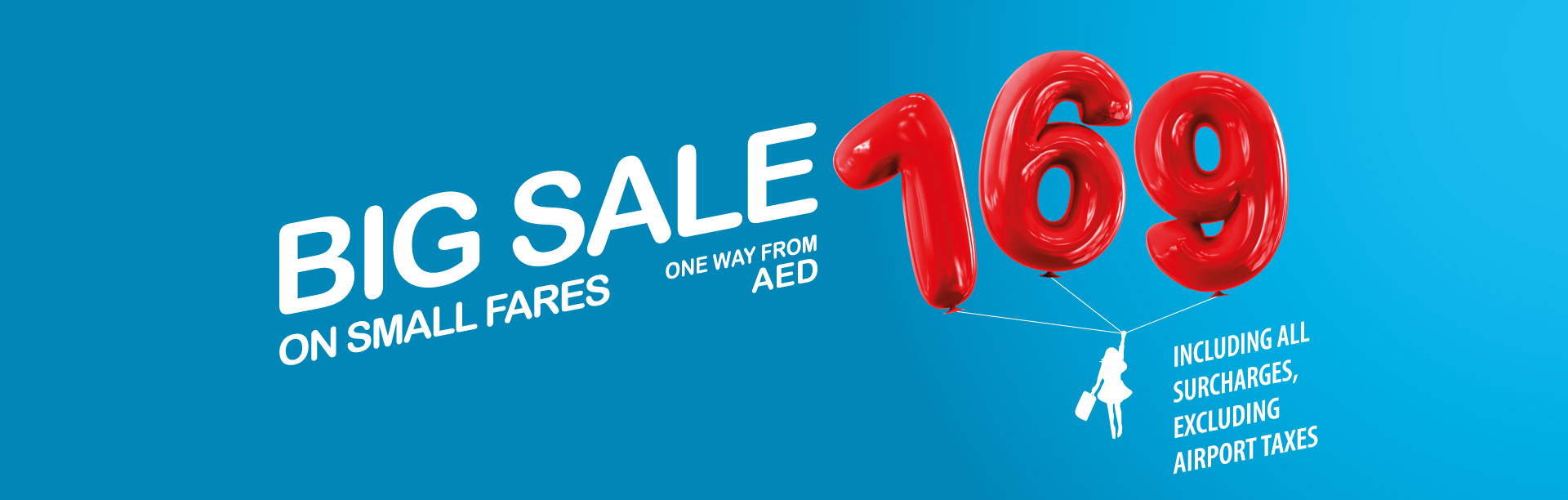 Big Sale On Small Fares | Air Arabia
