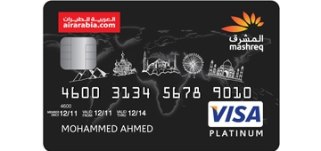 Mashreq Air Arabia Platinum Credit Card
