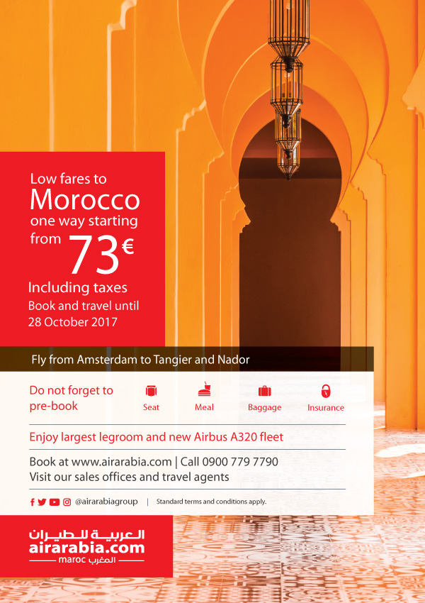 Low fares to Morocco