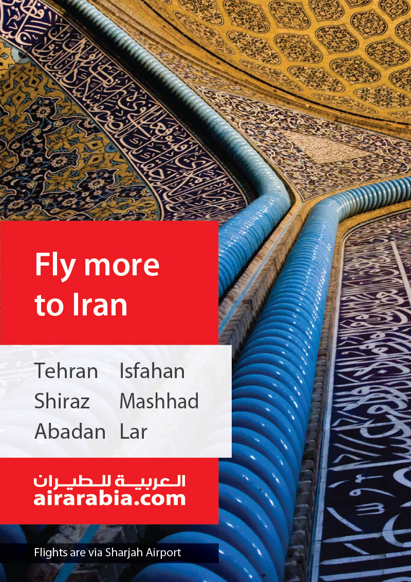 Fly more to Iran