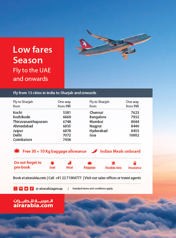 Low Fares Season - Fly to UAE and onwards