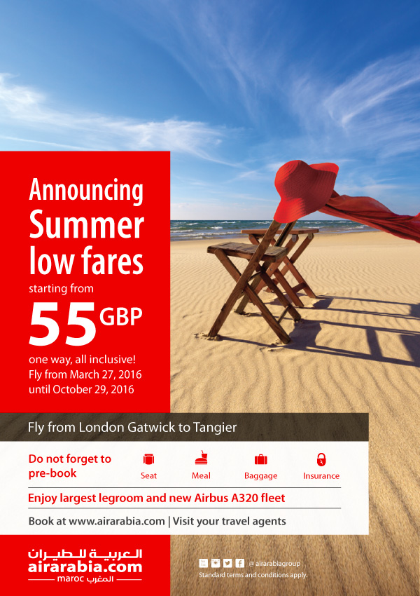 Announcing summer low fares!