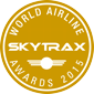 Skytrax award for the best low-cost airline in the middle east 2015