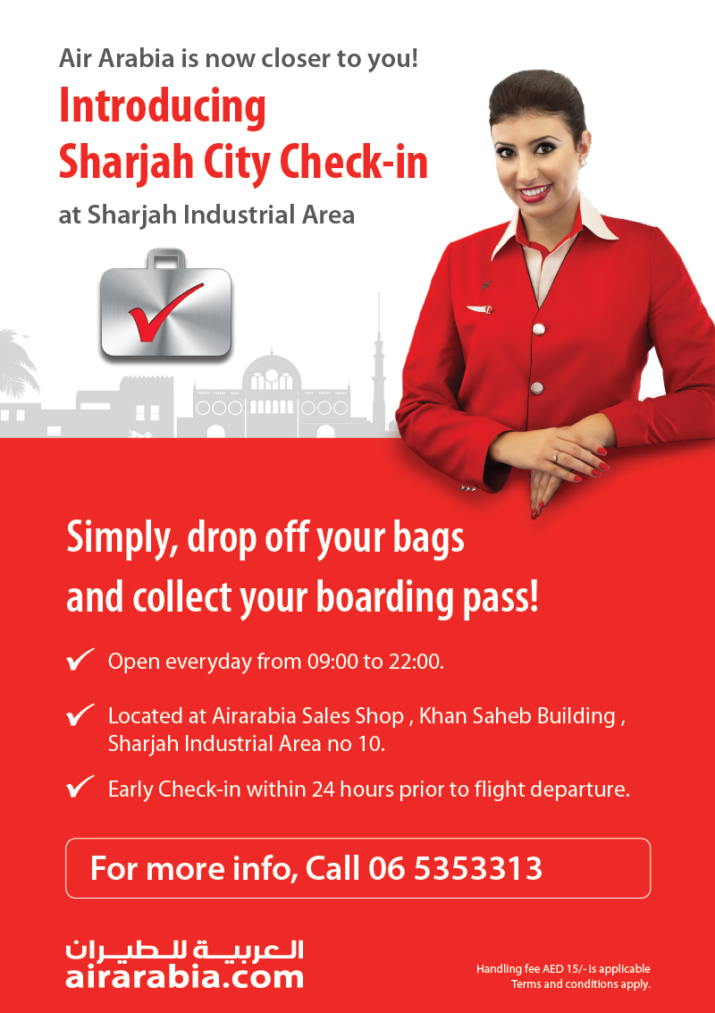 Introducing Sharjah City Check-in at Sharjah Industrial Area