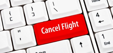 Cancel flight